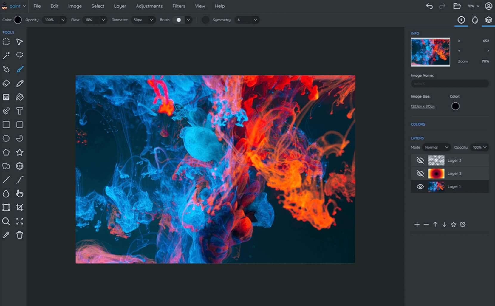 Programa de diseño grafico gratis para principiantes: Sumo Paint