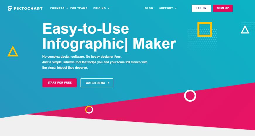 Piktochart software para crear infografías