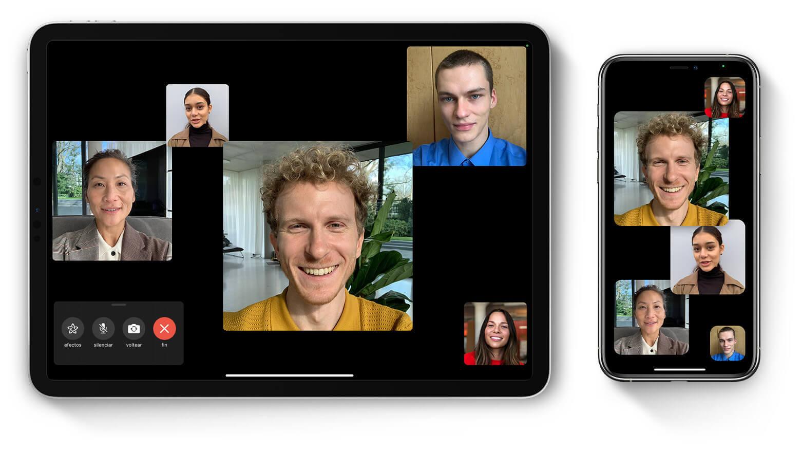 Programa de videoconferencias gratis: Facetime