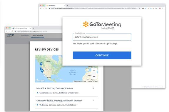 Programa de videoconferencias de pago: GoToMeeting