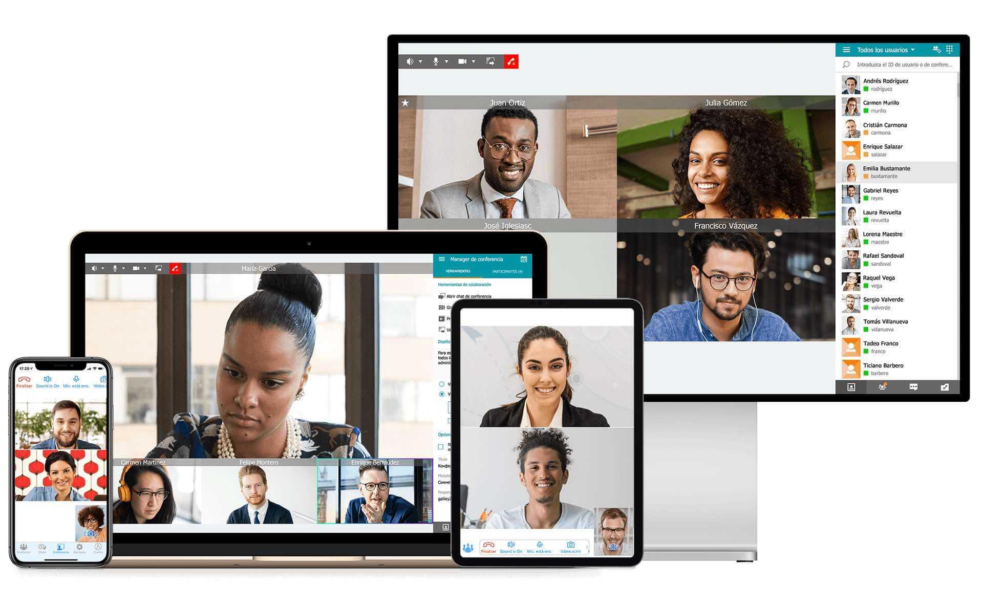 Programa de videoconferencias gratis: Trueconf