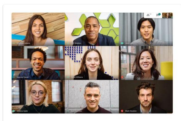 Programa de videoconferencias de pago: Google Meet