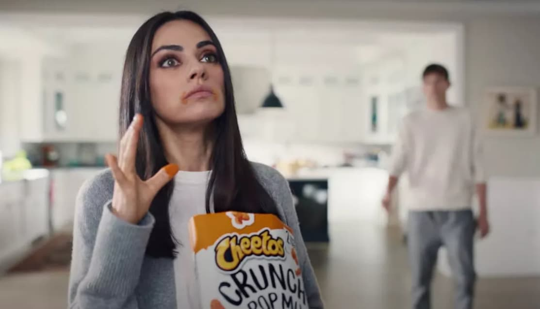 Ejemplo de publicidad ATL de Cheetos en el SuperBowl