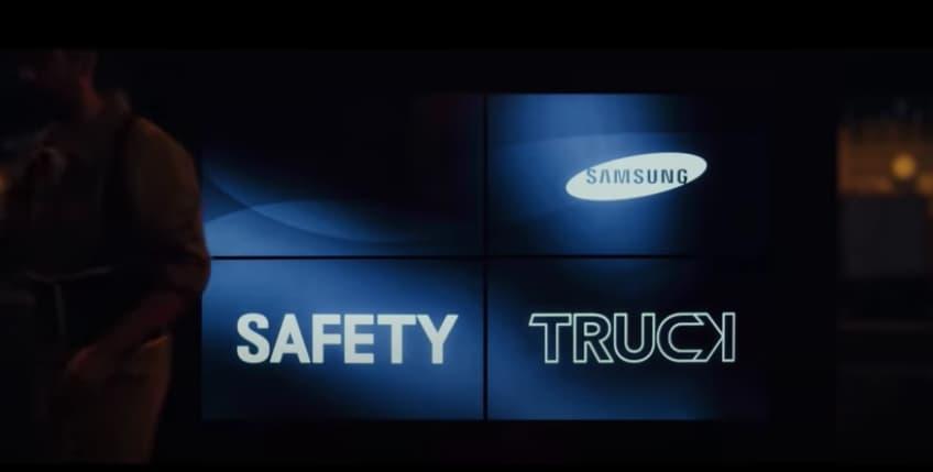 Ejemplo de publicidad BTL de Samsung Argentina