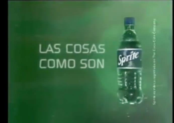Claim de la campaña de Sprite