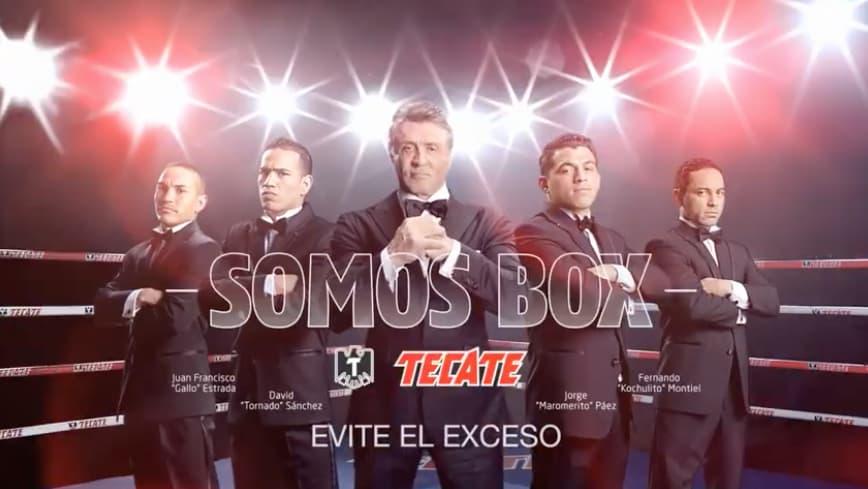 Ejemplo de publicidad : campaña «Somos Box» de Tecate