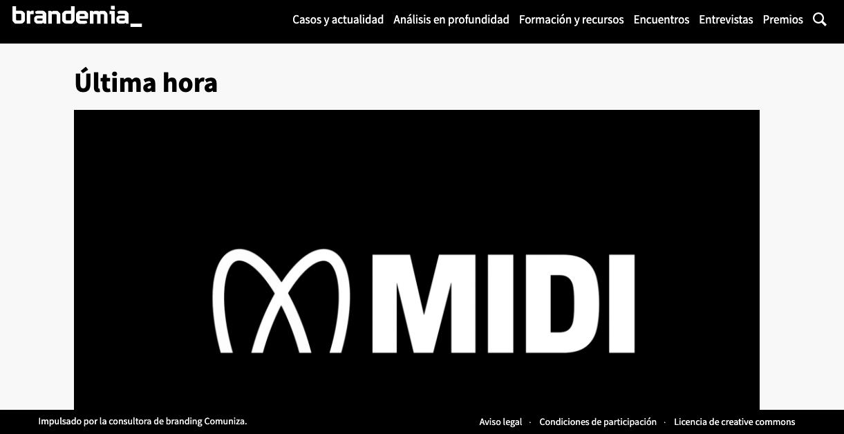 Бесплатный ресурс графического дизайна: Brandemia