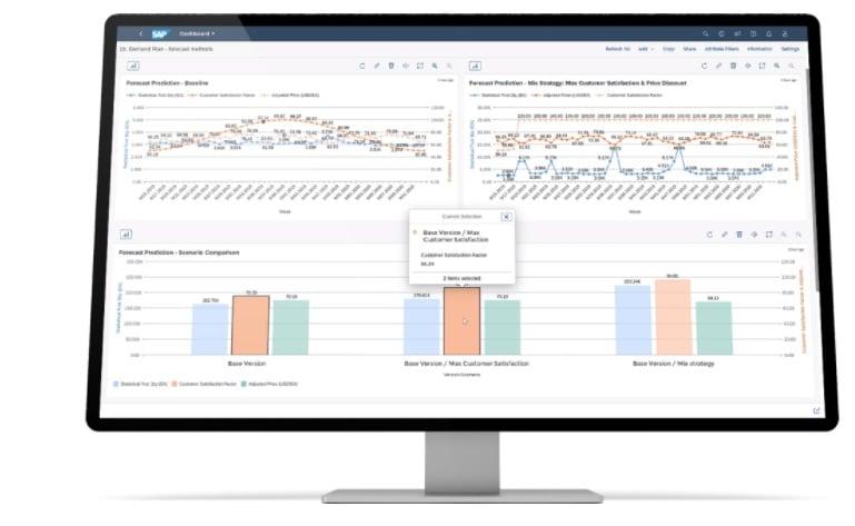 Ejemplos de programas para la gestión de cadenas de suministro: SAP