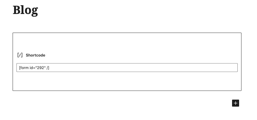 Cómo hacer un formulario de contacto en WordPress: pegar código