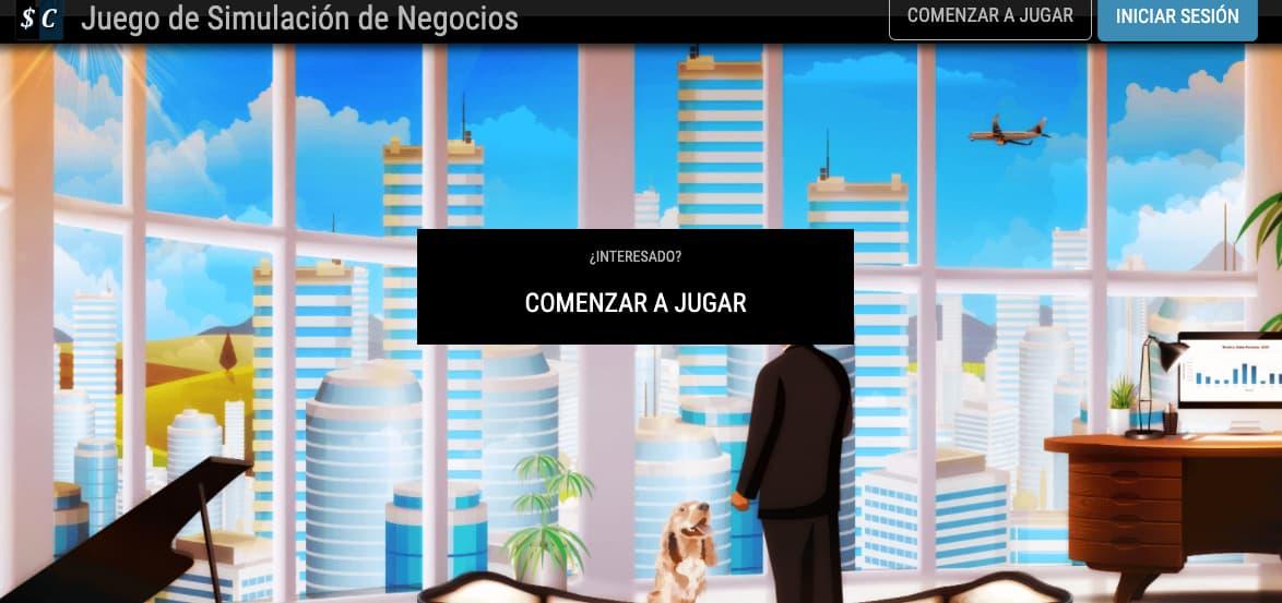 Ejemplo de simulador de negocios: Simcompanies