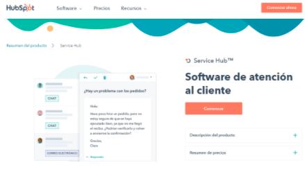 Mejores software de customer intelligence: HubSpot