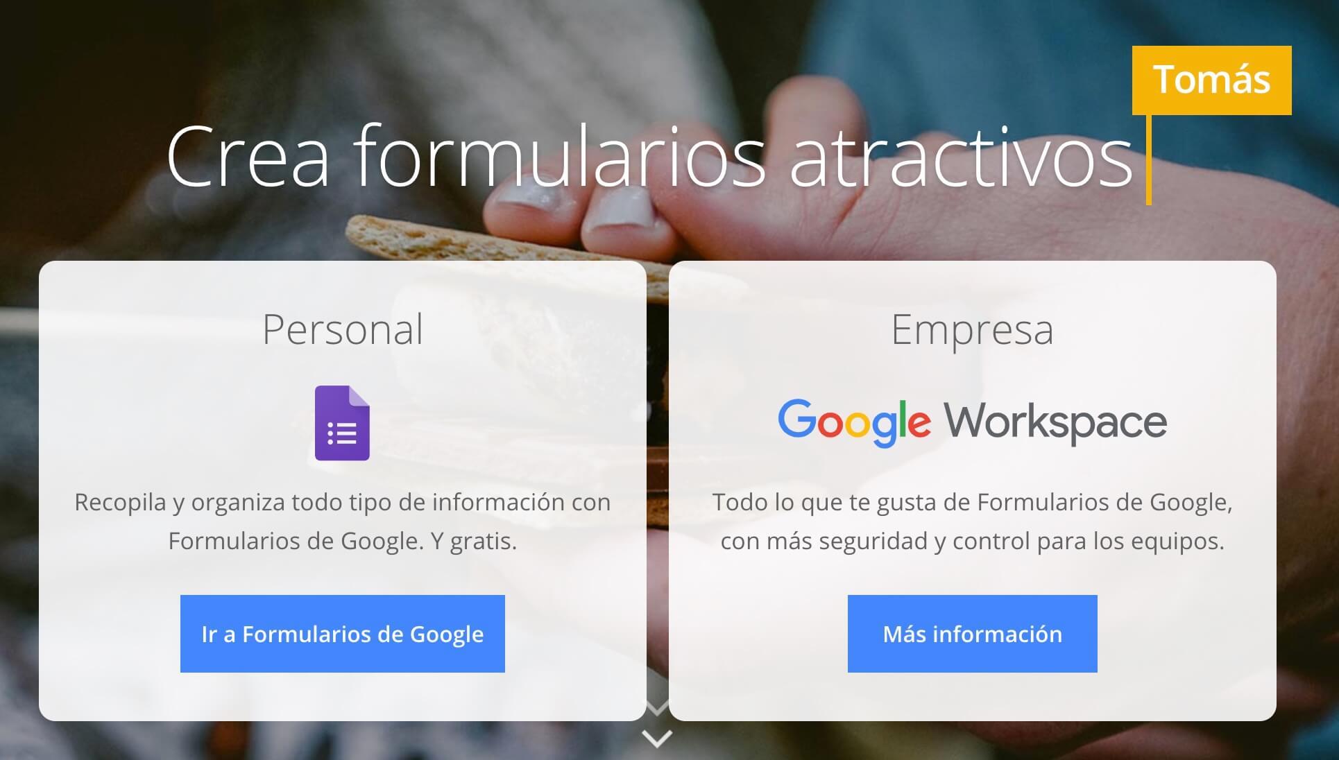 Formularios de Google, herramienta de creación de encuestas gratuita