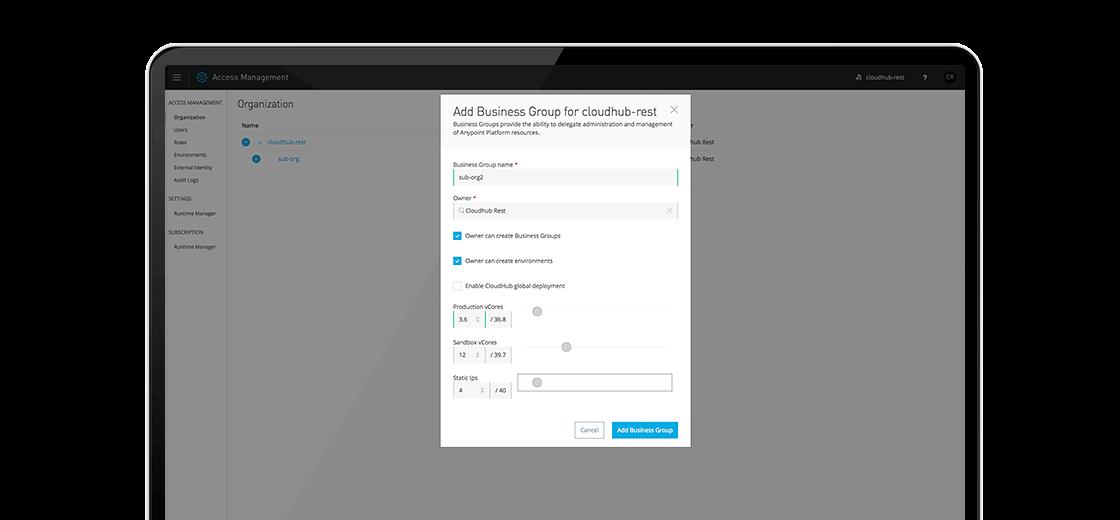 Software iPaaS de MuleSoft