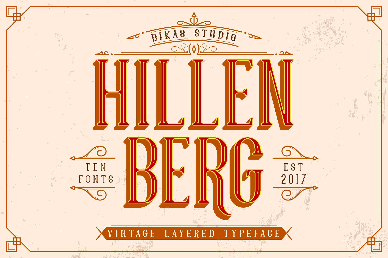 Tipografías para web: Hillenberg