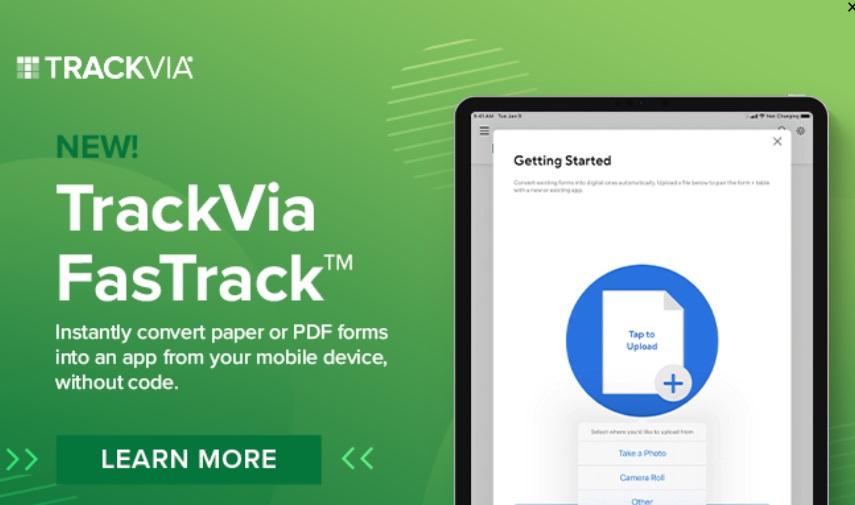 Software de workflow: TrackVia