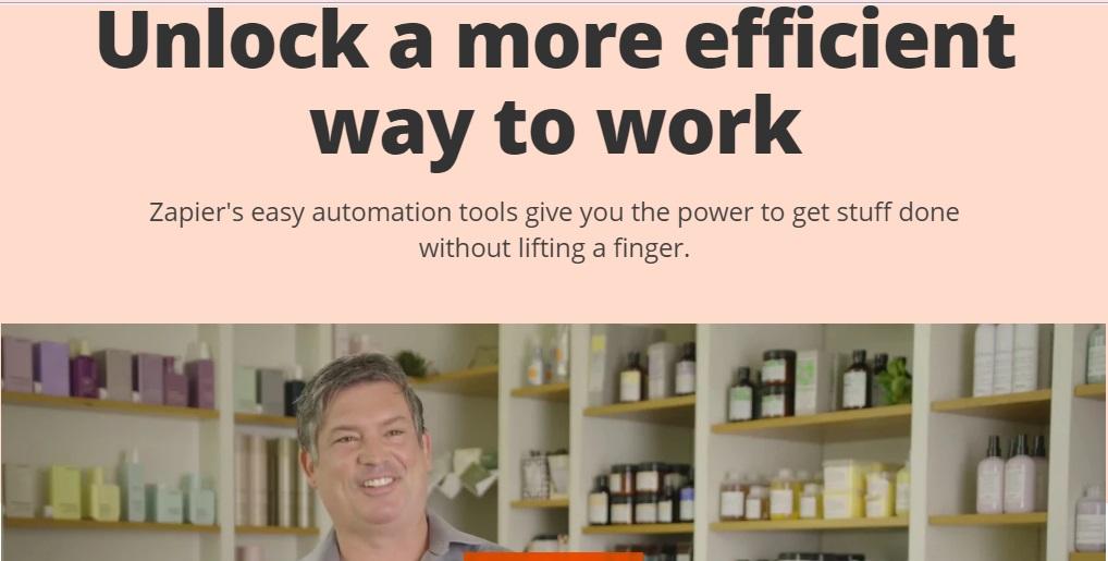 Software de workflow: Zapier