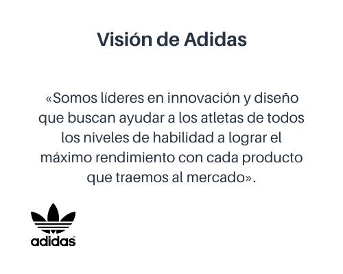 Ejemplo de visión de una empresa: Adidas