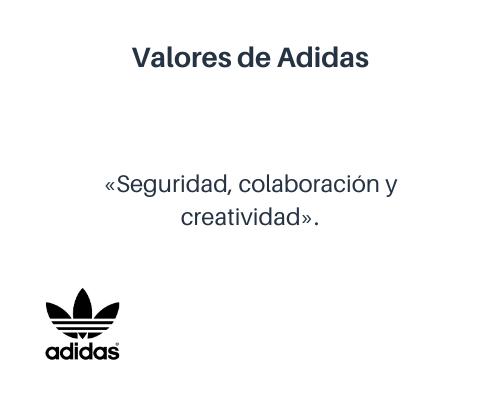 Valores empresariales de Adidas