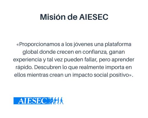 Misión empresarial de AIESEC