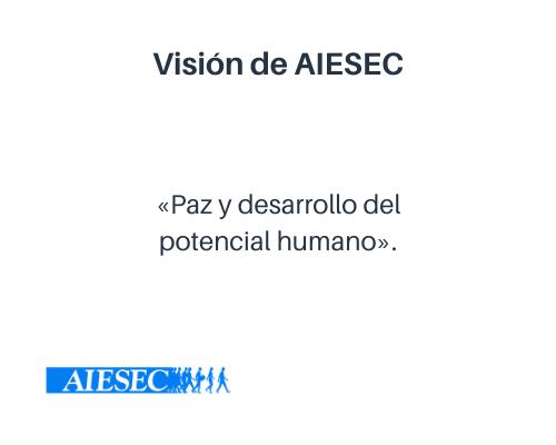 Visión empresarial de AIESEC