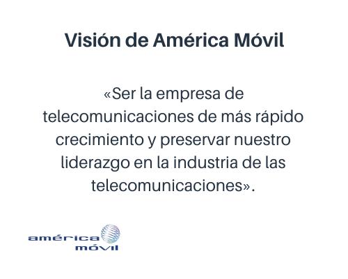 Ejemplo de visión de una empresa: América Móvil