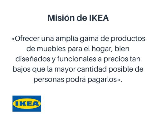 Misión de IKEA