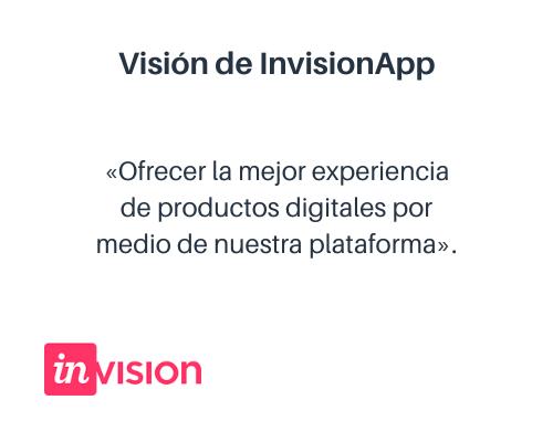 Ejemplo de visión corporativa: InvisionApp