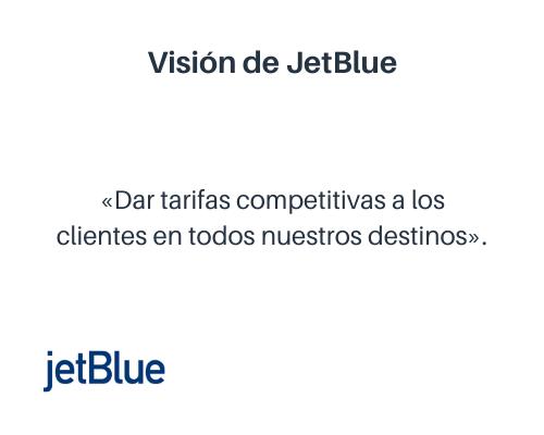 Ejemplo de visión de una empresa: JetBlue