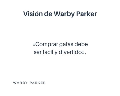 Ejemplo de visión de una empresa: Warby Parker