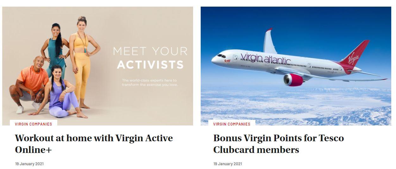 Ejemplos de omnicanalidad: Virgin