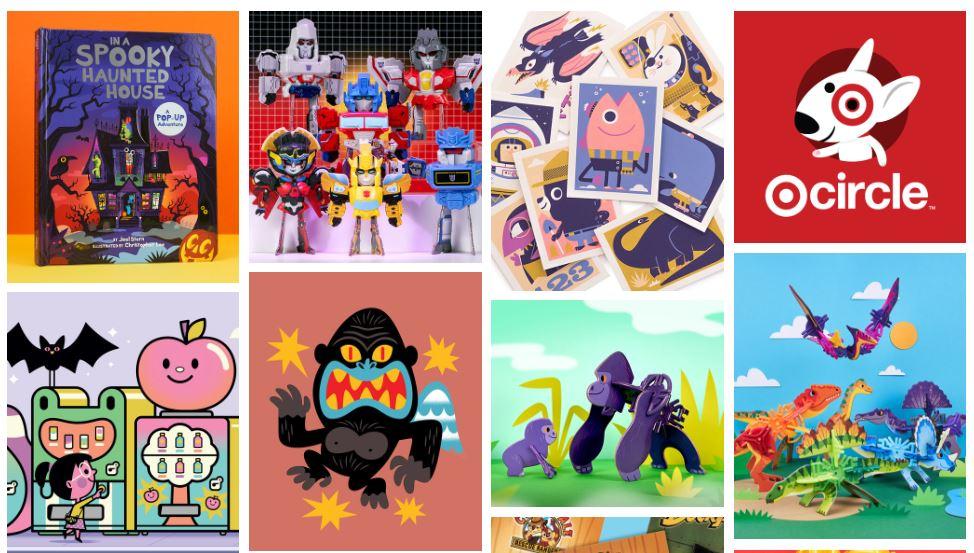 Ejemplo de página web de portafolio creativo: The Beast is Back