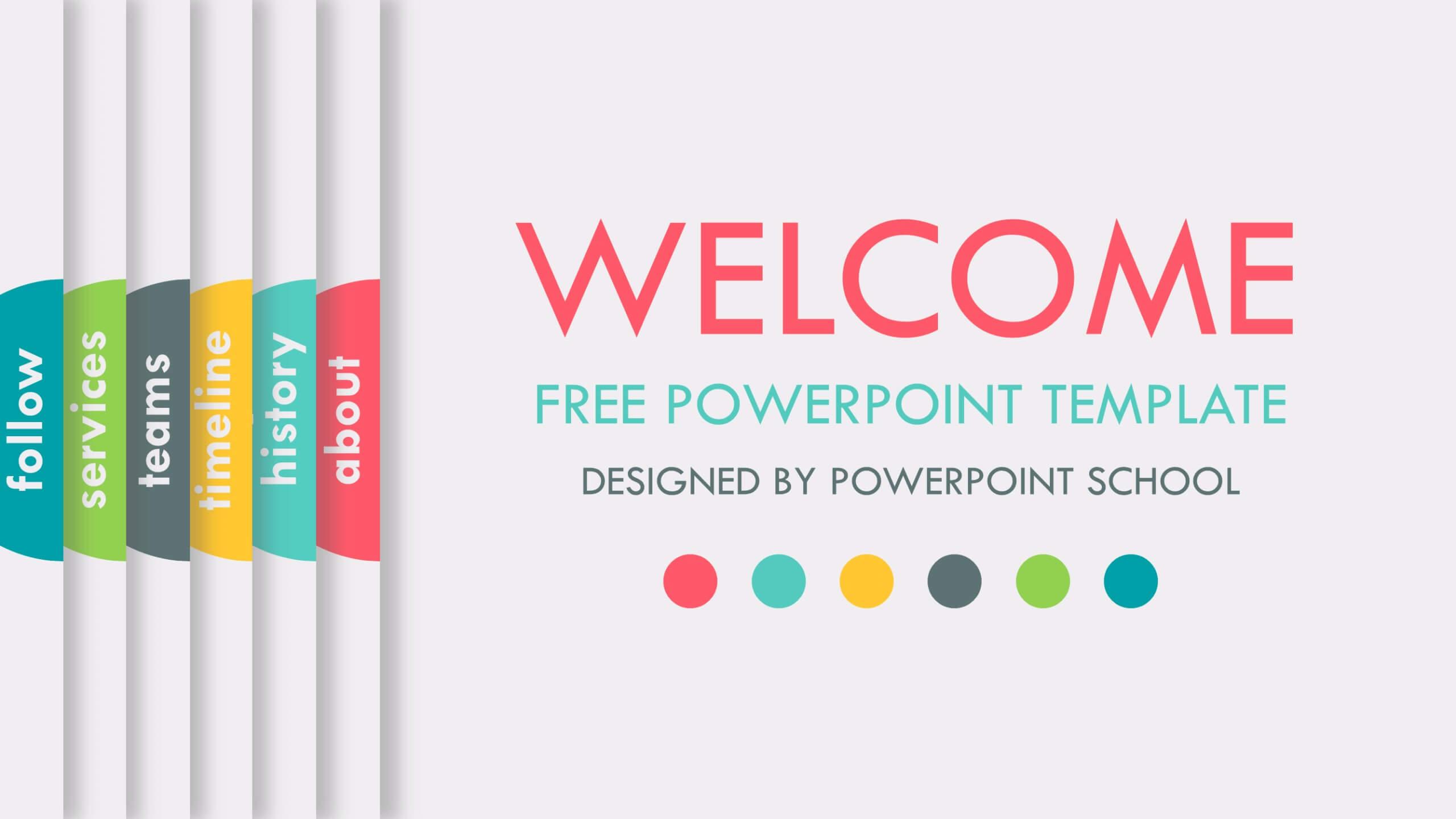 PowerPoint School, plantilla de PowerPoint animada gratis