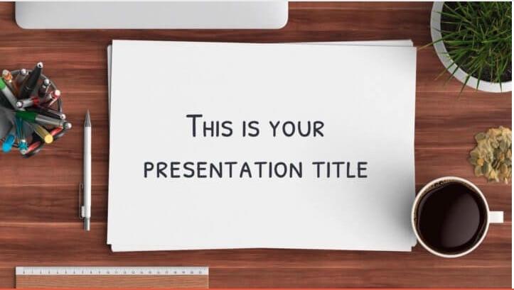 Talbot, plantilla de PowerPoint creativa gratis