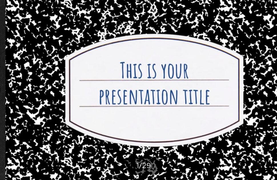 Pisano, plantilla de PowerPoint creativa y divertida