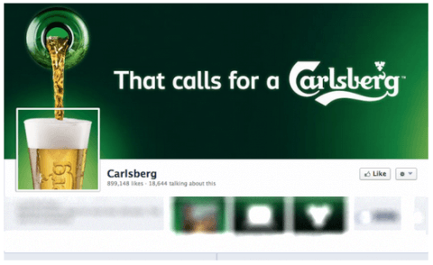 Portadas para Facebook originales: Carlsberg