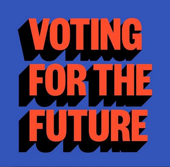 Ejemplo de la agencia creativa Red Antler: llamado al voto