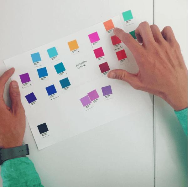 Ejemplo de Red Antler: guía de colores