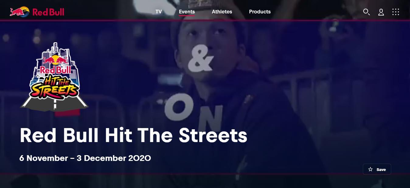 Ejemplo de branded content de Red Bull