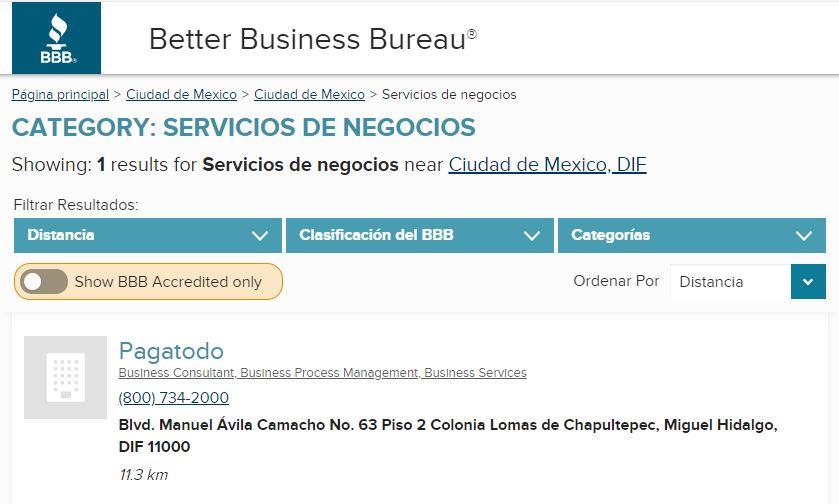 Cómo obtener reseñas positivas: Better Business Bureau