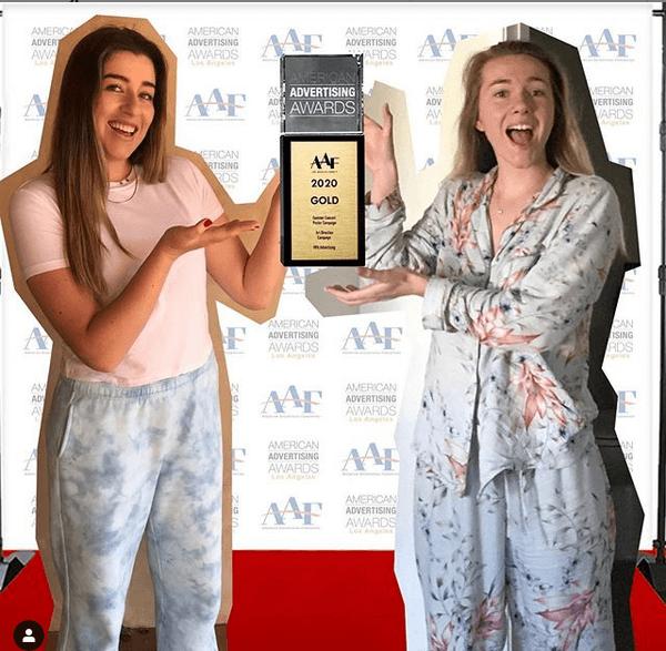 RPA Advertising, premio recibido desde casa por dos de sus trabajadoras