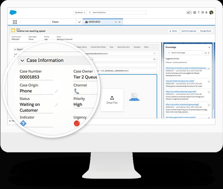 Software de mesa de ayuda, Salesforce
