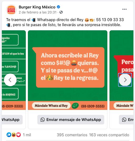 Ejemplo efectivo de segmentación de mercado: Burger King y su publicidad local