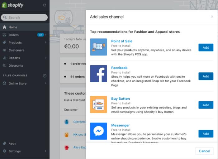 Cómo hacer un catálogo para Instagram con Shopify y Facebook