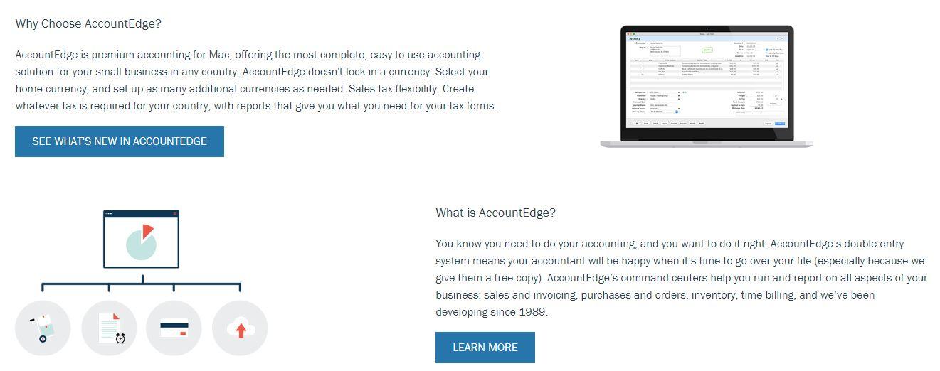 Software contable de AccountEdge