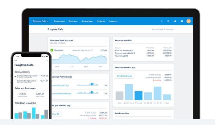 Mejores software de contabilidad: Xero