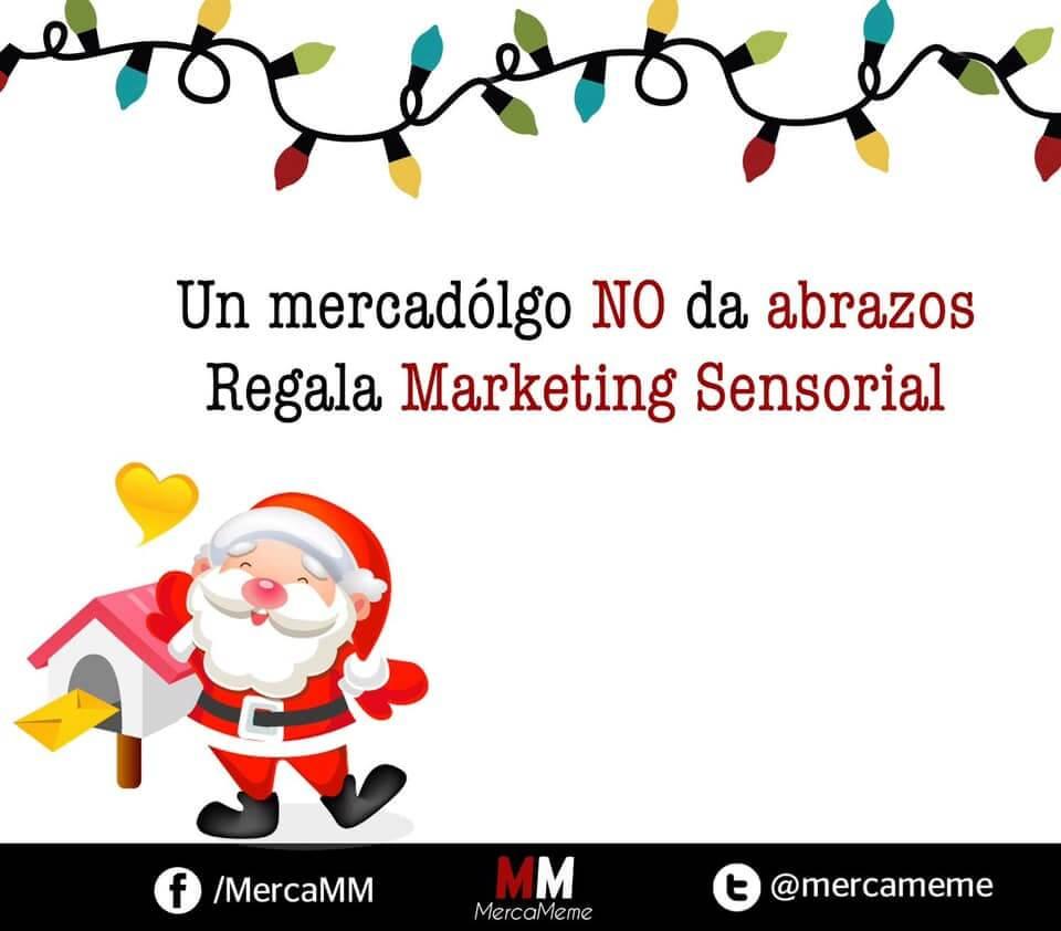 Tarjeta de Navidad para marketeros