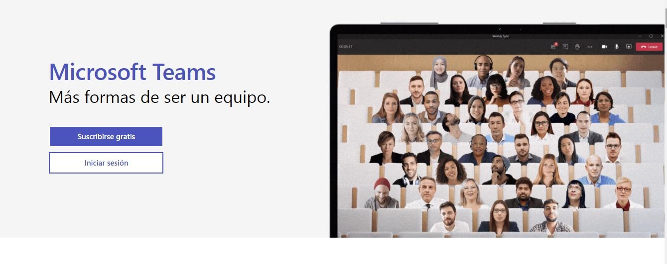 Microsoft Teams, software para reuniones en línea
