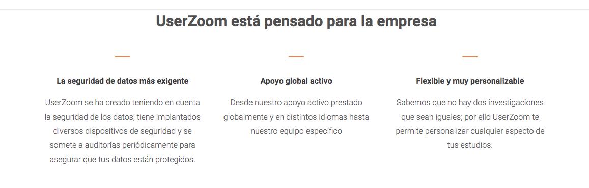 UserZoom, software de costumer experience management