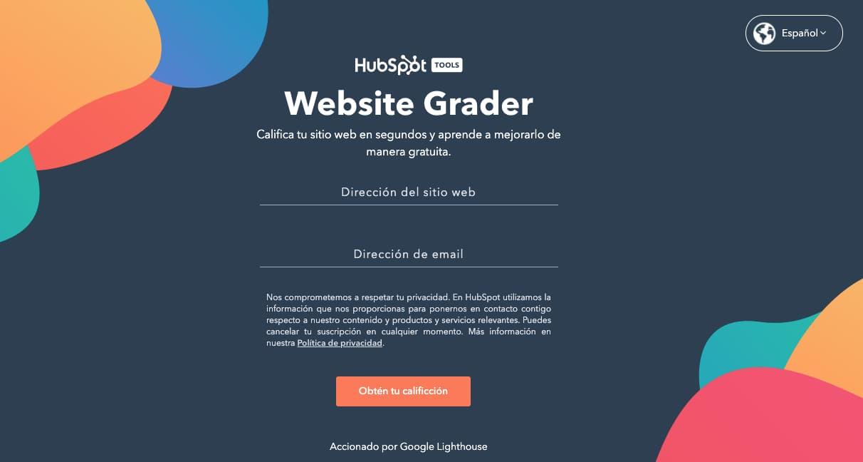 Webstie Grader: herramienta para optimizar la velocidad de carga web