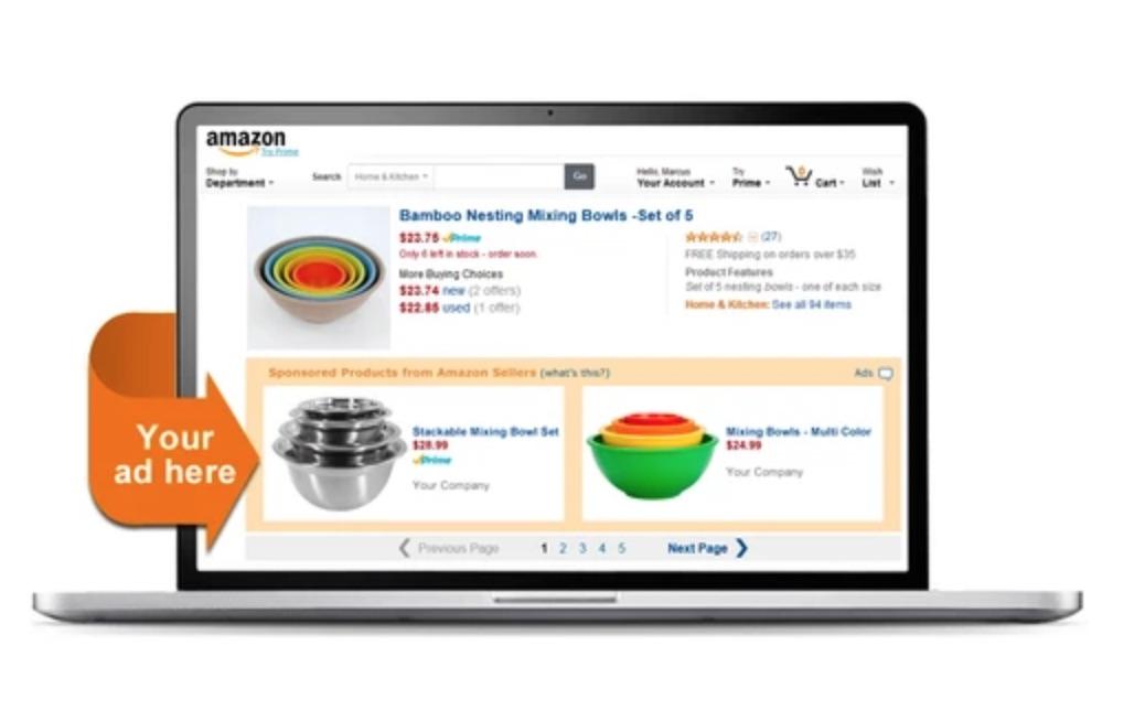 Cómo vender en Amazon: anuncios en la plataforma